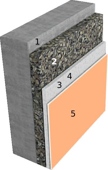 Sistema SATE con corcho natural