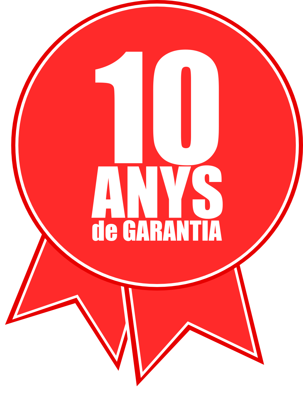 10 años de garantía en Fachadas Ventiladas